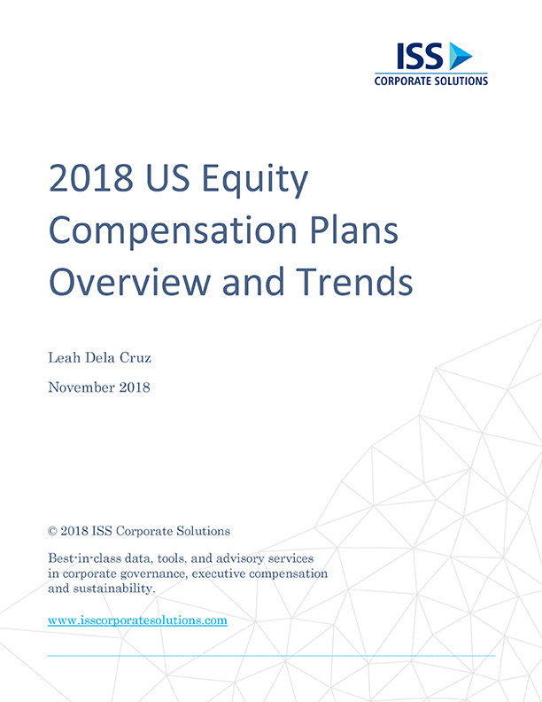 2018 US Equity Compensation Plans Overview and Trends