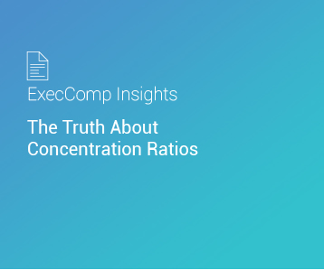 ExecComp Insights: The Truth About Concentration Ratios