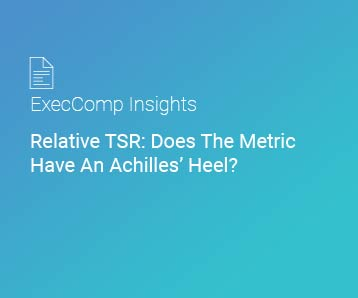 Relative TSR: Does The Metric Have An Achilles' Heel?