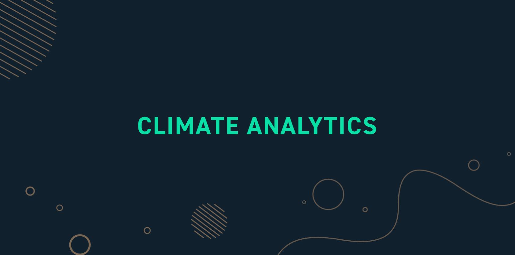 climate-analytics